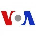 Logo da emissora VOA French Chad