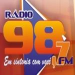 Logo da emissora Rádio Adecis 98.7 FM