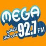 Logo da emissora Radio Mega 92.7 FM