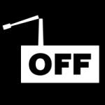 Logo da emissora Rádio off