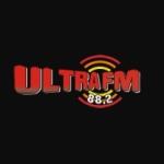 Logo da emissora Rádio Ultra 88.2 FM