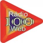 Logo da emissora Rádio 100 Web