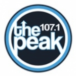 Logo da emissora WXPK The Peak 107.1 FM