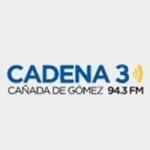 Logo da emissora Radio Cadena 3 94.3 FM