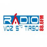 Logo da emissora Rádio Voz de Santo Tirso 98.4 FM