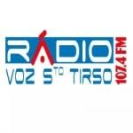 Logo da emissora Rádio Voz de Santo Tirso 107.4 FM