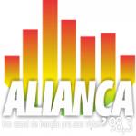 Logo da emissora Rádio Aliança 98.3 FM