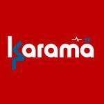 Logo da emissora Radio Karama 100.0 FM
