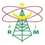 Logo da emissora Radio Mauritanie 93.3 FM