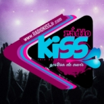 Logo da emissora Rádio Kiss JF