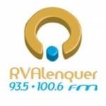 Logo da emissora Rádio Voz de Alenquer 93.5 FM