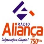 Logo da emissora Rádio Aliança 750 AM