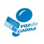 Logo da emissora Rádio Voz do Caima 97.1 FM