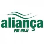 Logo da emissora Rádio Aliança 90.9 FM
