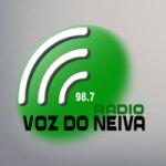 Logo da emissora Rádio Voz do Neiva 98.7 FM