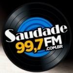 Logo da emissora Radio Saudade 99.7 FM
