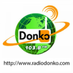 Logo da emissora Radio Donko 103.8 FM