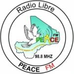 Logo da emissora Radio Peace 98.8 FM