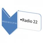 Logo da emissora Radio 22