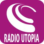 Logo da emissora Rádio Utopia