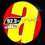 Logo da emissora Rádio Alfa 92.3 FM
