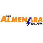 Logo da emissora Rádio Almenara 104.7 FM