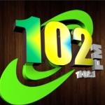 Logo da emissora Rádio 102 Sertaneja FM