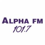 Logo da emissora Rádio Alpha 101.7 FM