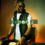 Logo da emissora Radio African FM