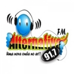 Logo da emissora Rádio Alternativa 91.7 FM