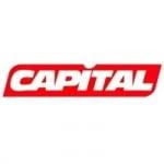 Logo da emissora Capital Radio 104.9 FM