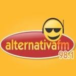 Logo da emissora Rádio Alternativa 98.1 FM