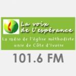 Logo da emissora Radio La Voix de L'Espérance 101.6 FM