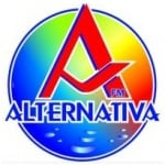 Logo da emissora Rádio Alternativa-1 91.1 FM
