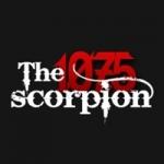 Logo da emissora Radio The Scorpion 107.5 FM