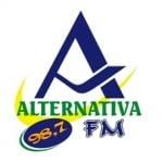 Logo da emissora Rádio Alternativa 98.7 FM