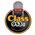 Logo da emissora Radio Class 91.3 FM