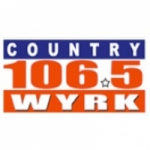 Logo da emissora WYRK 106.5 FM
