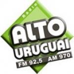 Logo da emissora Rádio Alto Uruguai 970 AM