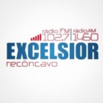 Logo da emissora Rádio Excelisor 1460 AM 102.7 FM