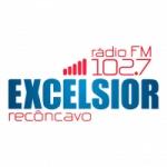 Logo da emissora Rádio Excelisor 102.7 FM