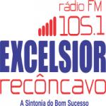 Logo da emissora Rádio Excelsior Recôncavo 105.1 FM