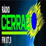 Logo da emissora Rádio Cerrado 87.9 FM