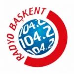 Logo da emissora Radio Baskent 104.2 FM