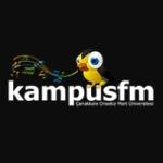 Logo da emissora Radio Kampüs 104.7 FM
