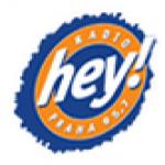 Logo da emissora Radio Hey 100.3 FM