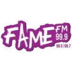 Logo da emissora Fame Radio 99.9 FM