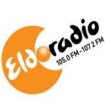 Logo da emissora Eldoradio 105 FM