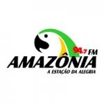 Logo da emissora Rádio Amazônia 94.7  FM
