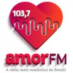 Logo da emissora Rádio Amor 103.7 FM